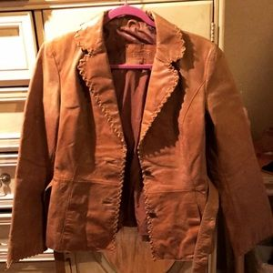 Leather Guess jacket size M